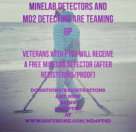 Minelab detectors and military